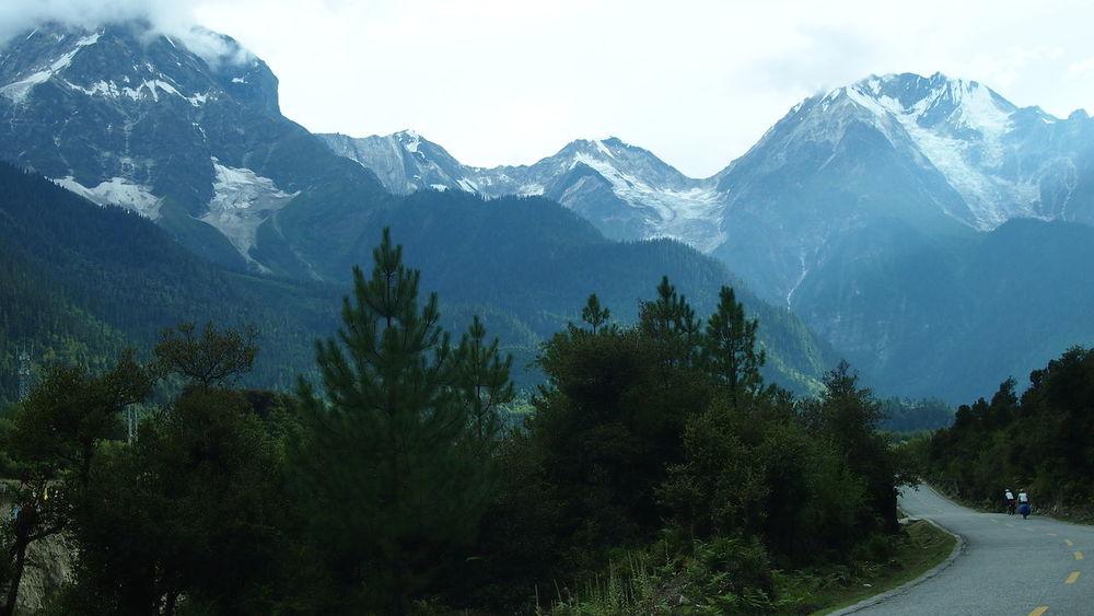 Hello World Enjoying Life Landscape Tibet