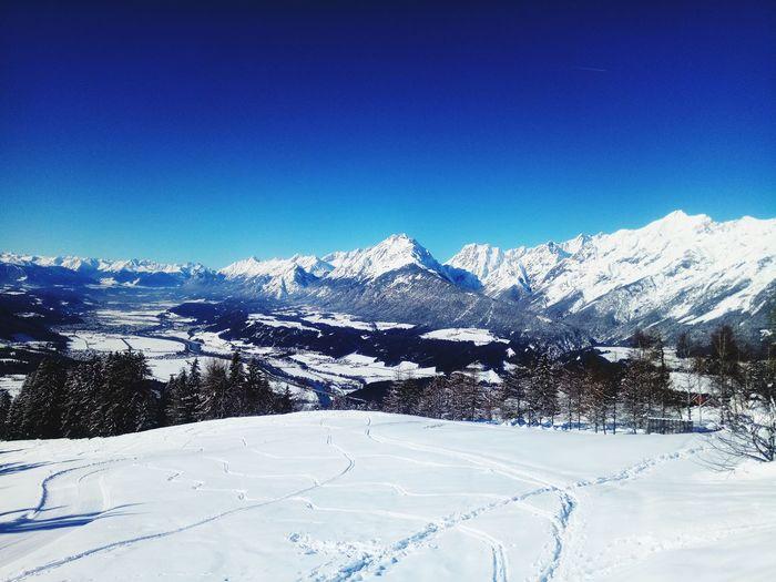 Austria Tirol  Mountain Snow Cold Temperature Winter Snowcapped Mountain Sky Mountain Range Landscape Ski Resort  Ski Slope Powder Snow Skiing
