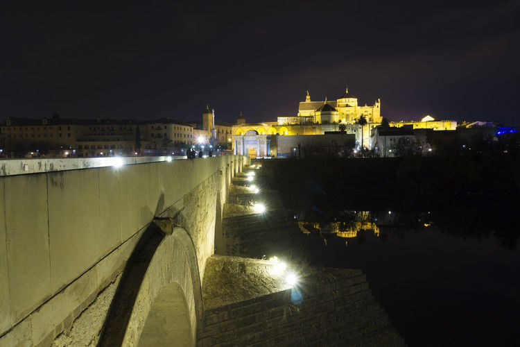 City Cityscape Cordoba Spain Córdoba Mezquita Mezquita De Córdoba Puente Romano De Cordoba SPAIN Architecture Building Exterior Built Structure Chain Bridge City Cityscapes Illuminated Landscape Mosque Nature Nautical Vessel Night No People Outdoors Sky Water