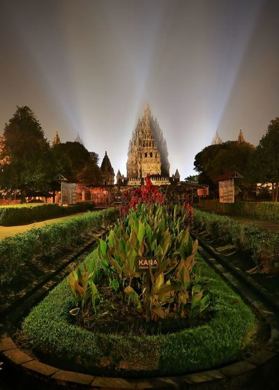 Indonesia_photography Indonesia Culture Prambanan Temple Plant City Arts Culture And Entertainment Jogjakarta Cityscape Night Tree Green Color Ornamental Garden Sky Nature Architecture Water Beauty In Nature Spraying Garden No People Fountain Formal Garden Decoration Motion Built Structure