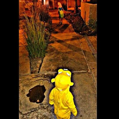 Like the Bff that they are; Finnthehuman must make sure the road is clear for Jakethedog Adventuretime mmyskings happyhalloween Halloweentime unbreakablebond Sandovalboys brudderlove kings