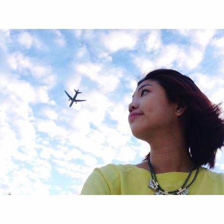 Wanderlust Clouds Travel Dreams Aviation