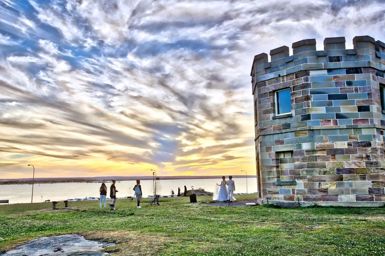Architecture Building Exterior Cloud - Sky HDR La Perouse People Photographer Sea Sky Sunset We