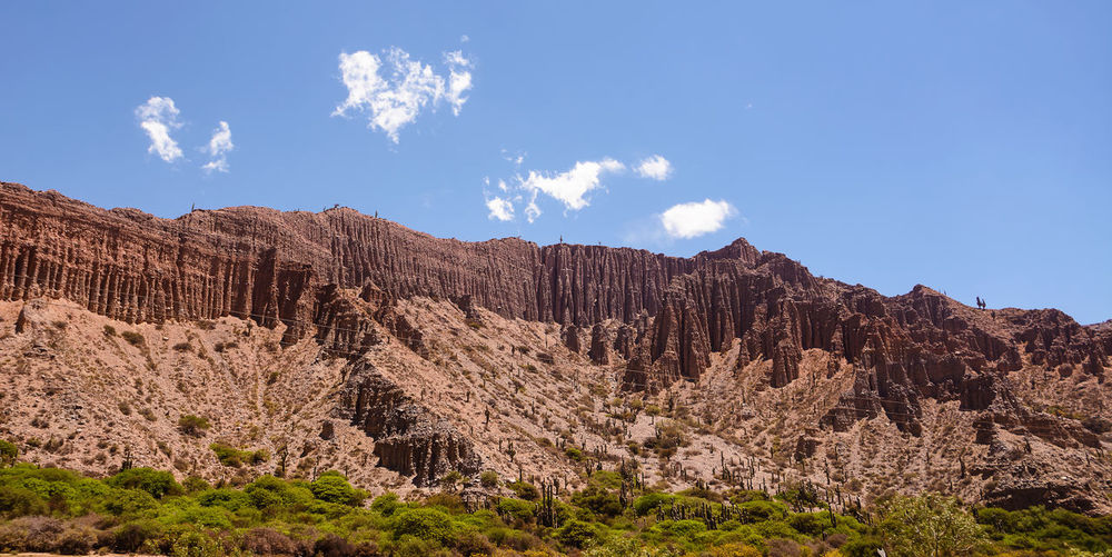 Badlands of mountain in Jujuy's province (Argentina) Altiplano America Andes Argentina Badlands Cactus Calanchi Desert Geology Gullies Jujuy Landscape Mountain Nature No People Outdoors Province Quebrada Rock - Object Salta  Tilcara Valley