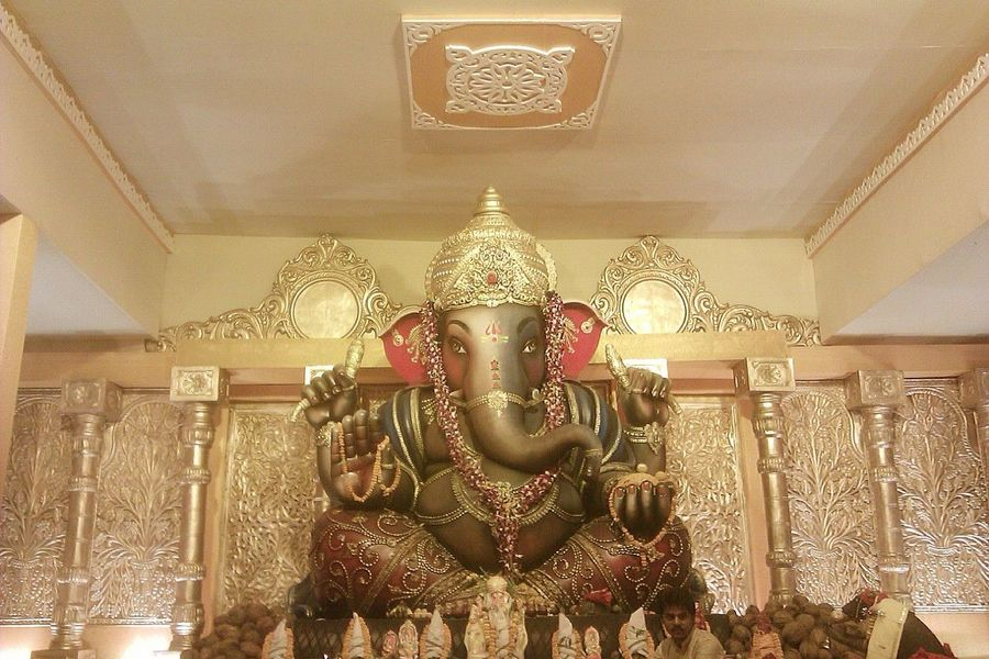Lord Ganesha Ganapati Bappa Morya....! 43 Golden Moments Taking Photos Eyem Gallery Ganeshfestival Indian Culture  Indian Festival Bhilai India Art Is Everywhere