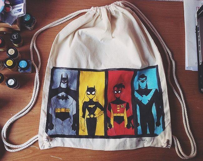 Batman Robin Batgirl Nightwing DC Comics HERO MyArt Art Comic Cool