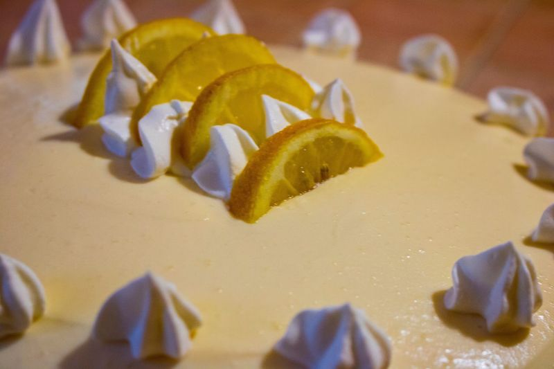 Dessert Yellow Close-up No People Indoors  Food Fragility Freshness Nature Day Freshness Pandispagna Spong Cake Crema Limone Food And Drink Cake DeliziaAlLimone