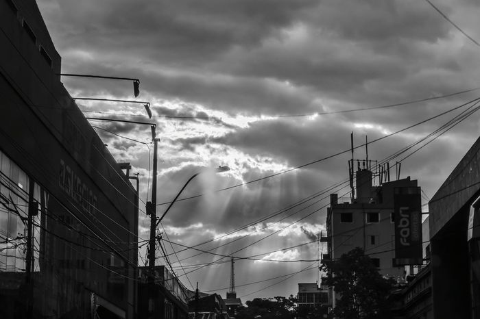 Weekend EyeEm Best Shots Lovephotography  Black And White Paraguay-Asuncion Nikon D5100  I Love My City Gray Day Light And Shadow