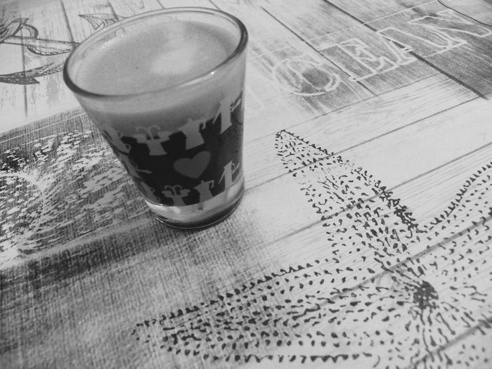 ocean expresso Coffe Expresso Expresso Coffe Black And White Heart Glass One Coffee Ocean Text 🐋🐙ocean Ocean Theme Bnw3 Filter Grain3 Black And White Photography