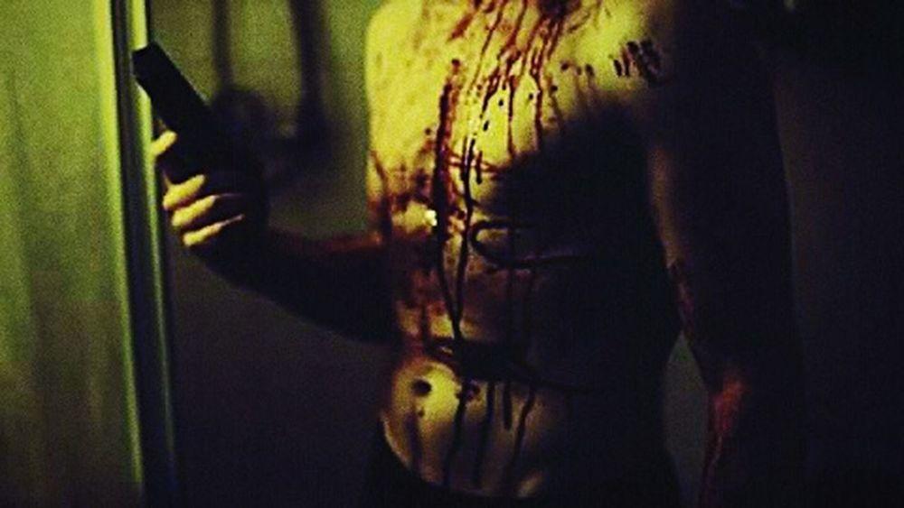Just After Shot EyeEm Best Shots EyeEm Picture Mood Photo Photography Horror Fluo  Scary Killer Gun Blood