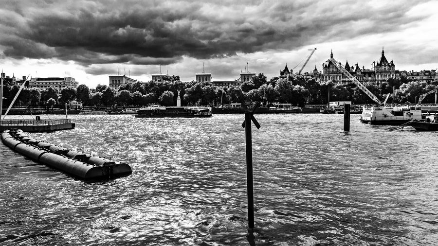 City City Life Cityscape Cloudscape EyeEm EyeEm Best Edits EyeEm Best Shots EyeEm Gallery EyeEmBestPics Architecture Black And White Blackandwhite Blackandwhite Photography City Cloud - Sky Clouds Clouds And Sky Day Landscape Nature No People Outdoors River Sky Water