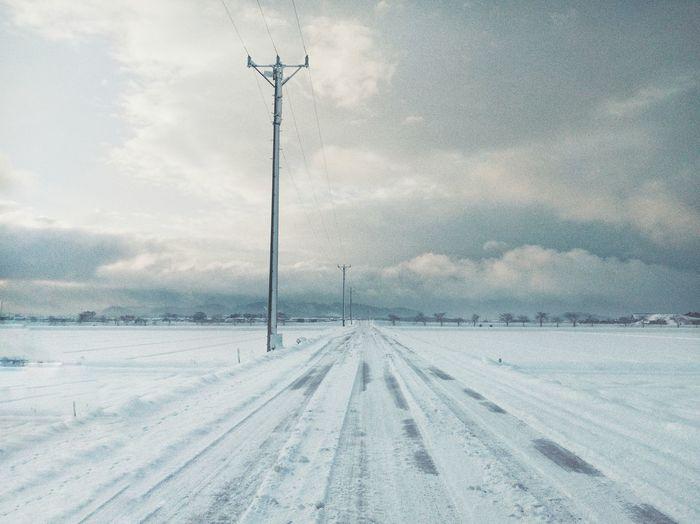 雪の後 Cold Temperature Snow Winter Nature No People Outdoors EyeEm Gallery EyeEm Nature Lover EyeEm Best Shots Winter Morning Colour Of Life Sound Of Life
