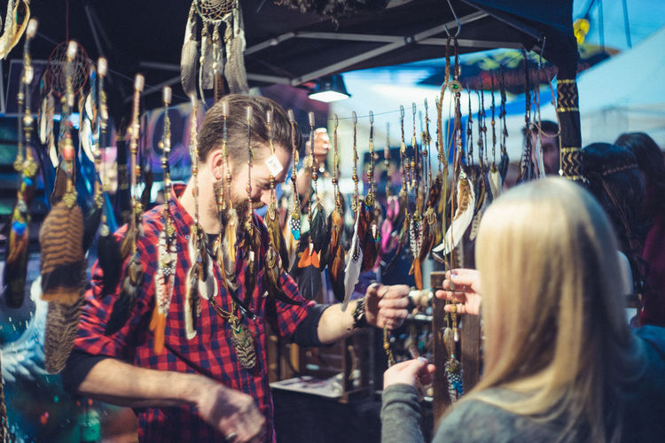 Accessory Accessory Shop Casual Clothing City Life Cultures Indian Jewellery  Market Market Stall Shopping At Market Shopping Time The O2 Arena Tourism