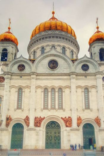 Orthodox Church Built Structure Cathedral Of Christ The Savior Moscow Russia Orthodox Architecture Cathedral Tourism Travel City Religion History Cultures Place Of Worship Dome Building Exterior Façade