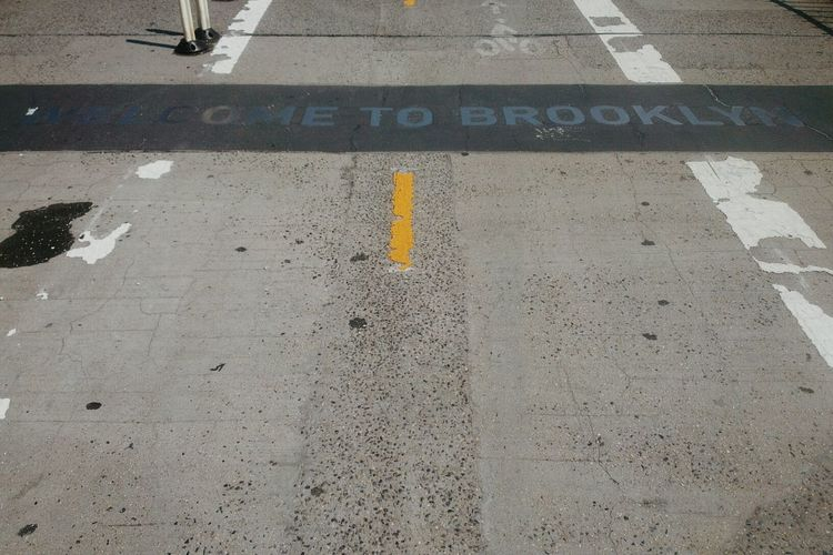 From Marcy to Madison Square (the other way round, actually). Brooklyn Typography Contrast