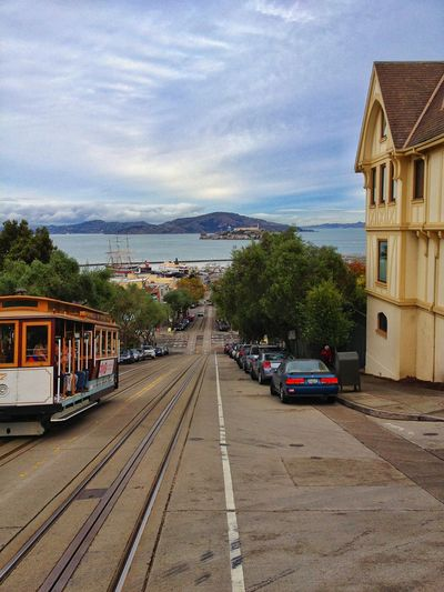 Cable Car Alcatraz In Sight San Francisco Taking Photos Enjoying Life Check This Out Eye4photography