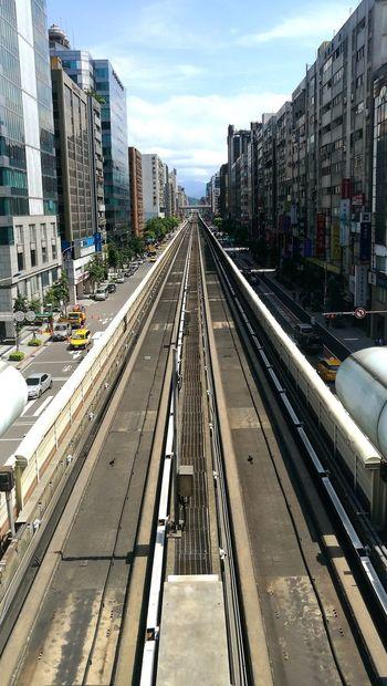 Highline Taiwan Taipei Cityscapes Architecture Travel No People Urban Taipei Metro