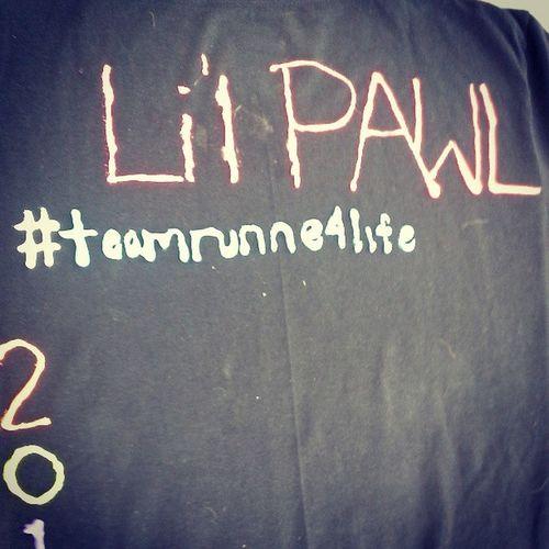 TeamR -U-N-N-E-R4life, NOT TeamRUNNE4life . Haha poor @sabrinapawlus. @christaanerd at least you can spell :P