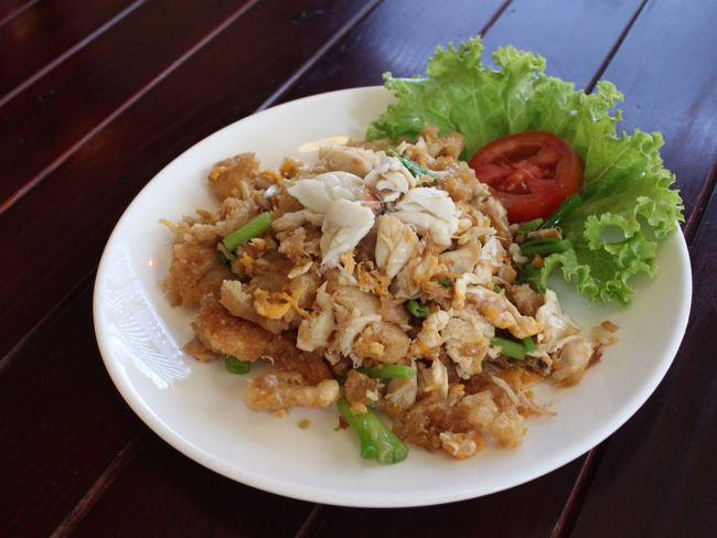 Plate Food And Drink Food Ready-to-eat Serving Size High Angle View No People Healthy Eating Freshness Table Indoors  Close-up Fried Rice Day