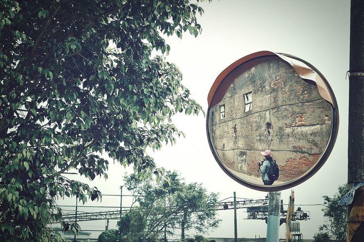 Old Town Redbrickwall 壁萌 Mirror Mirror Reflection Friend ♡ Trees Architectural Detail Landscapes Streetphotography Street Photography Streetphoto_color Eye4photography  The Street Photographer - 2016 EyeEm Awards 禁建限建 社子島