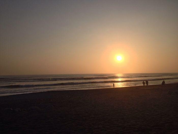 Huanchaco - Trujillo, Perú Sunset