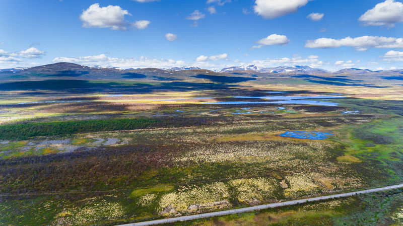 Norway aerial view from drone with lakes and road Drone  Aerial View Beauty In Nature Dronephotography Lake Landscape Mountain Mountain Range Nature Outdoors Scenics Sky Tranquil Scene Water Wilderness Go Higher