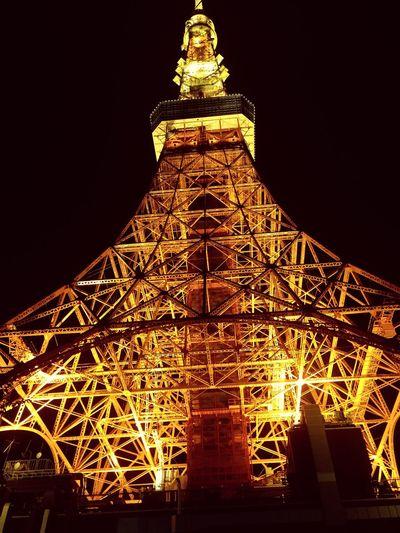 EyeEmNewHere Tokyo Tokyo Tower Night Nightshot Japanese  Friends