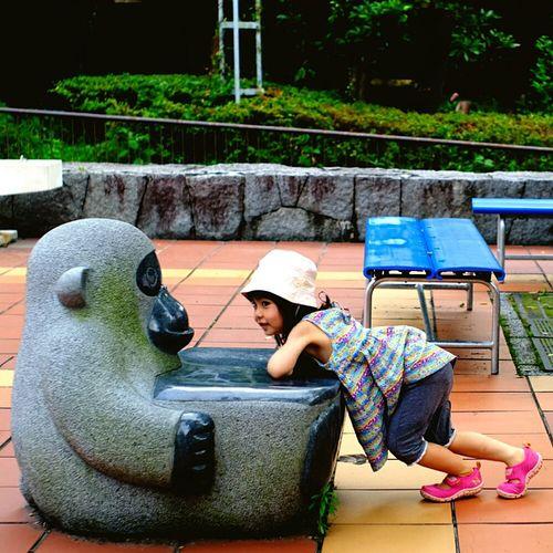 とべ動物園 Zoo Summer Days Girl Daughter