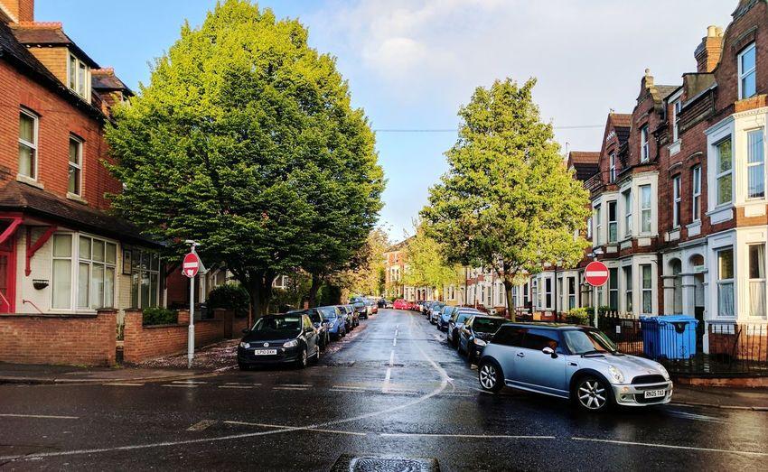 Northampton City Street After Rain My Street Photography Google Pixel Teampixel