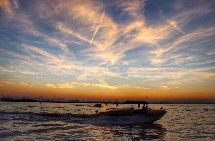 Last night's sunset in Venice was a perfect ending to an amazing Italy trip. Summer Views Sunset Venice Italy Venezia Sunset_collection Sunset #sun #clouds #skylovers #sky #nature #beautifulinnature #naturalbeauty #photography #landscape Skyporn Sunset Silhouettes Protecting Where We Play