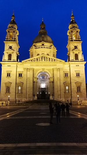 Budapest Huawei P10 St. Stephens Cathedral Budapest Cathedral Twilight Religion Sacral Architecture Chatolic The Architect - 2017 EyeEm Awards Your Ticket To Europe