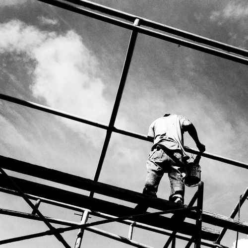 Design and build Architecture Construction Site Light And Shadow Monochrome Black And White Urban Geometry Eyeem Philippines Shadow