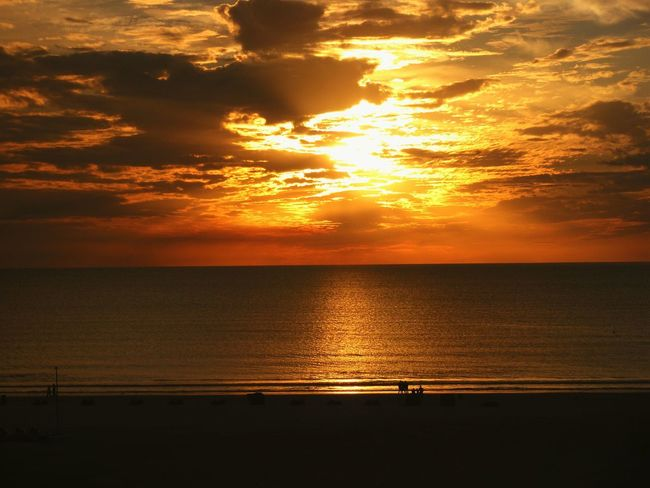 Sunset Clouds Beautiful Gulf Of Mexico UV  Sky Beach Water Reflection Relxing Fort Myers Beach Florida Been There.