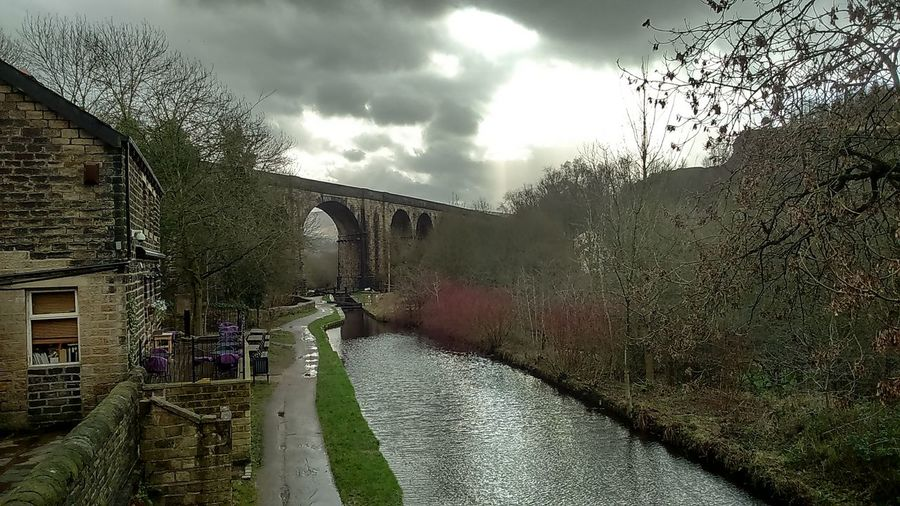 Saddleworth Viaduct Brownhill Countryside Centre United Kingdom