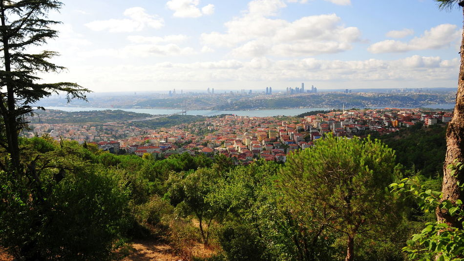 Istanbul from Camilla Hill Bigcity Bosphorus City Cityscape Istanbul Town çamlıcatepesi Adventures In The City