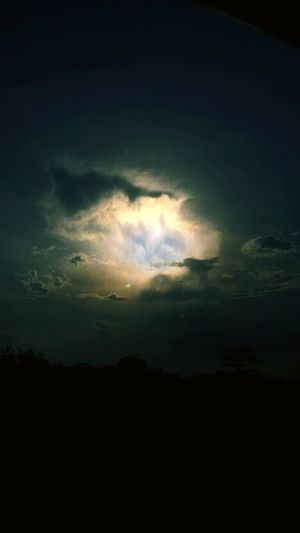 Light of Hope 🙏 in the sky. Let's keep on praying for a better life. Relaxing Hello World We Are Family