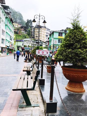 Eyeemlove Outdoors Clear Sky Gangtok Market Togetherness Meandher Backpacking Day The Way Forward EyeEmNewHere Heritage Here I Am