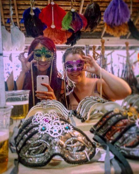 Renaissance Renfest Taramae Kathrynann Smile Mask Behindthemask Redhead Minnesota 2015  Renaissancefestival