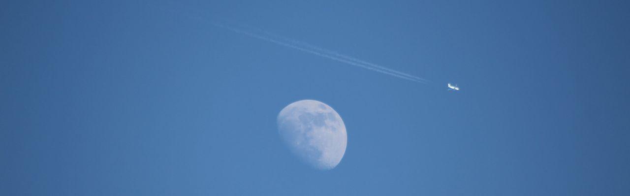 Moon Sky Blue
