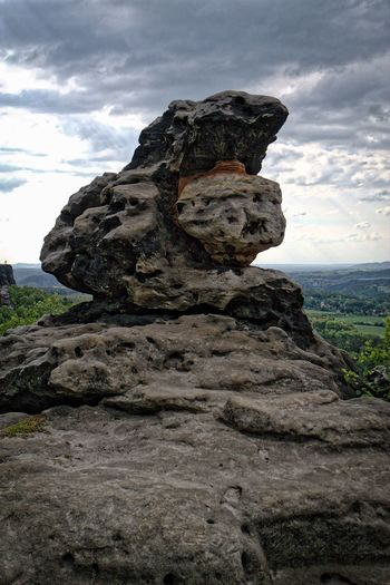 Rock monument HDR Collection HDR Nature Photography Relaxing Hiking At Malerweg The Great Outdoors - 2016 EyeEm Awards Gohrisch Nature Taking Photos Open Edit Landscape Walking Around Samsung Nx300 Rock Rock - Object Rock Formation