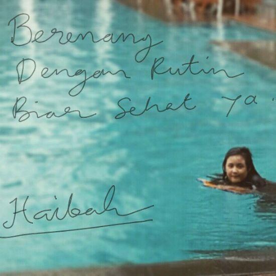 Pesan dari Haibah Televisinet INDONESIA Berenang Olahraga
