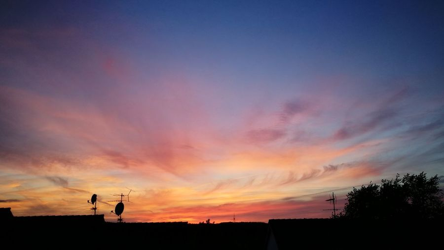 Sunset Sky And