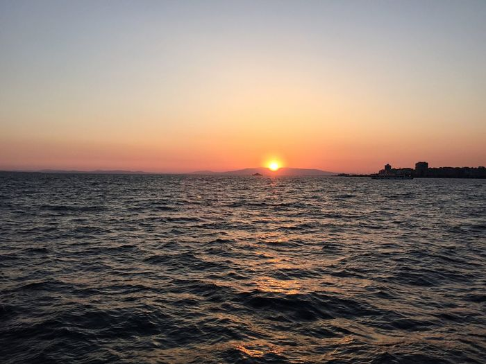 Sea Sunset Happiness Peacefull Wave Voice