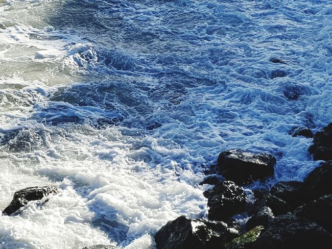 Water Nature Photography EyeEm Nature Lover Water Sea Nature Day No People High Angle View Beauty In Nature Wave Outdoors Motion