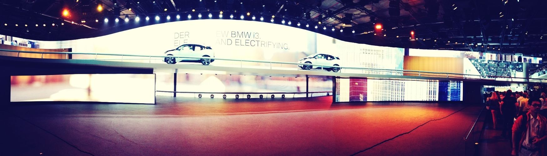 Bmw Great Show Huge Screen Good Fun