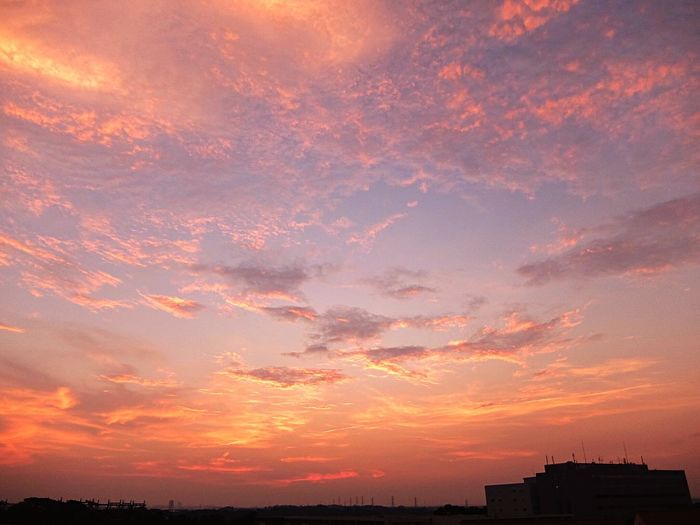 Today's sunset - 7/26/15 Sunset Evening Sky Evening Sky Clouds Clouds And Sky 夕焼け 夕空 夕暮