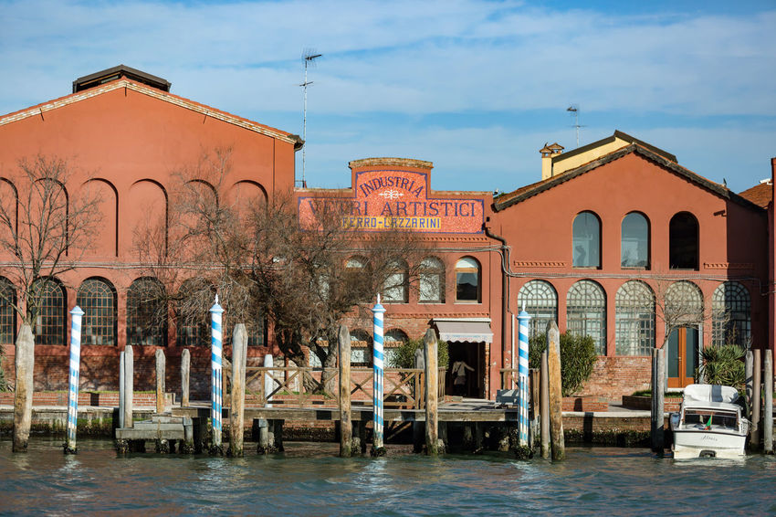 Murano Arch Architecture Building Exterior Built Structure Day Glass Factory History No People Outdoors Sky The Past Travel Destinations Tree Water