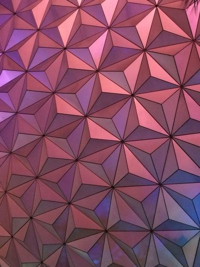 Backgrounds Pattern Full Frame Architectural Feature Triangle Shape Architecture Abstract Indoors  No People Seamless Pattern Modern Day Epcot Sphere Creative Space The Creative - 2018 EyeEm Awards