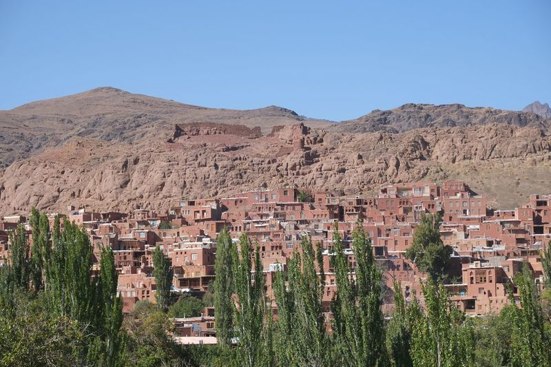 Abeyeneh Village Mountain Tourism Landscape Built Structure Sky Irantravel