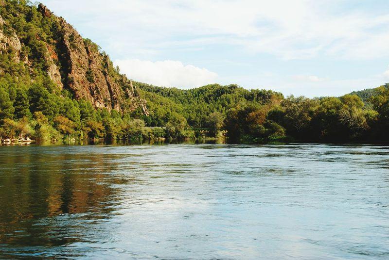 Ebre Ebre River Riu Lo Riu Lo Riu Es Vida Nature Forest Landscape Beauty In Nature Outdoors No People Sky Day River Water Cloud - Sky Travel Destination Tranquility Benifallet Terres De L'Ebre